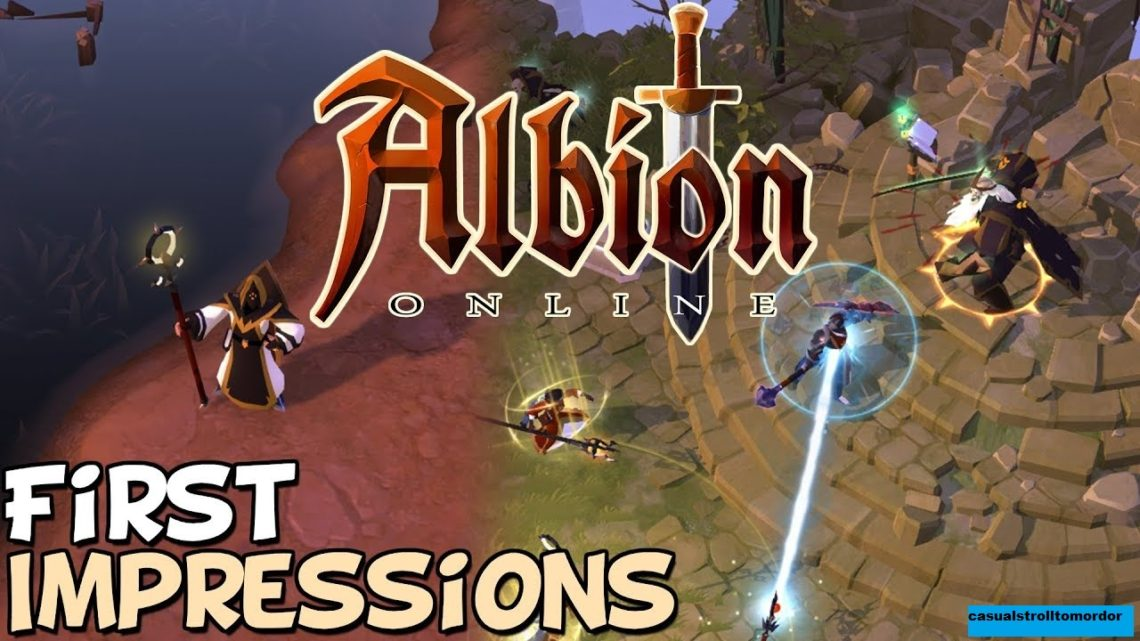 Review Game Albion Online